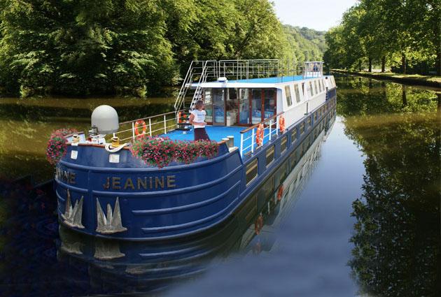 De Besançon à Dijon sur l'eau