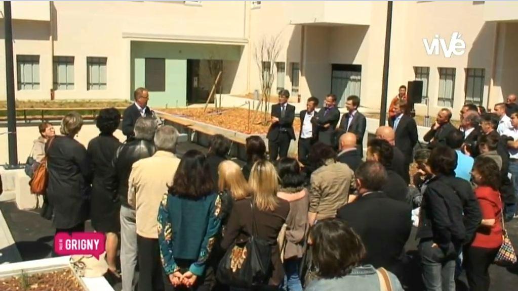 Inauguration de L'Agora – Quartier Bel Air – 30 mai 2012