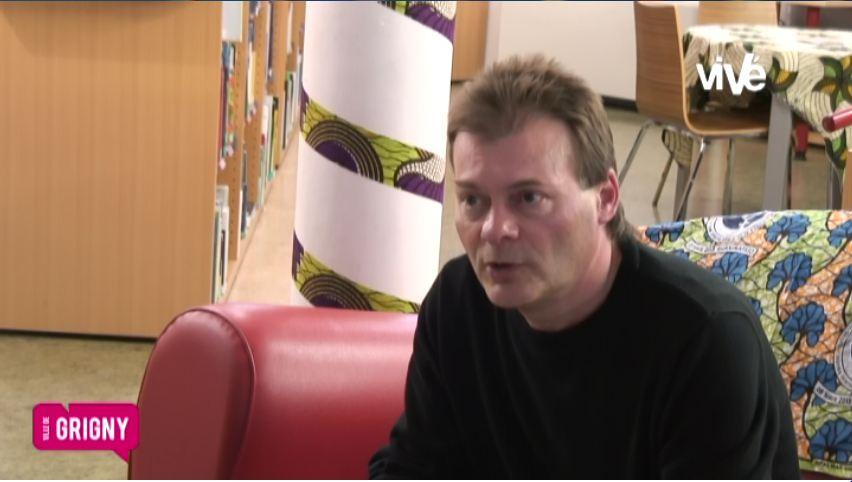 Rencontre avec Thierry Maricourt, auteur en résidence à Grigny (Rhône)