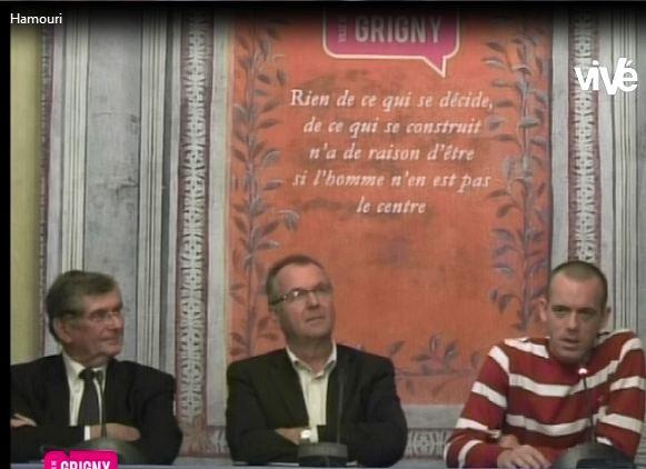 Salah Hamouri – Citoyen d'Honneur de Grigny (Rhône) reçu à L'Hôtel de Ville