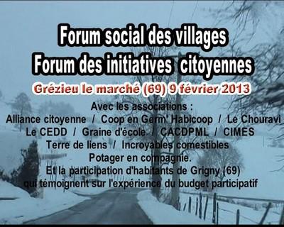 Forum social des villages