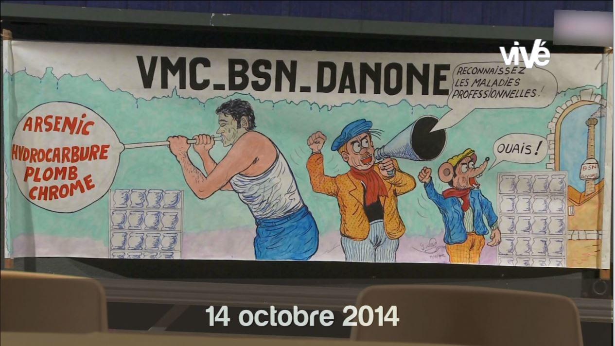 Verriers de Givors -Micro trottoir débat du 14 octobre 2014