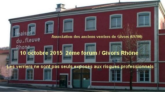 2ème colloque 10 octobre 2015 GIVORS Rhône
