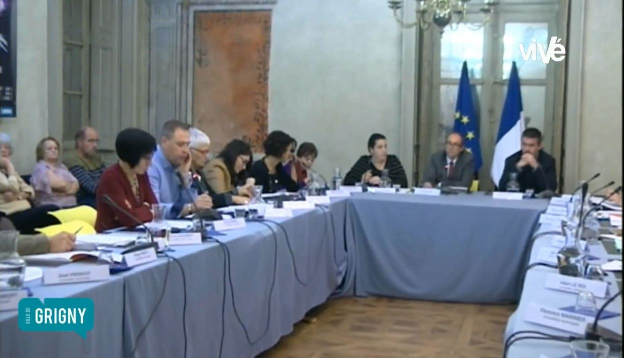Conseil Municipal de Grigny (Rhône) du 6 novembre 2015 – 2 ème partie